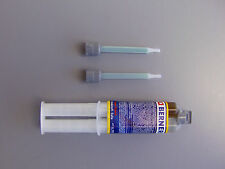 BERNER 2 Componenti Adesivo Super Speed, Singolo siringa, 25 ml 49818