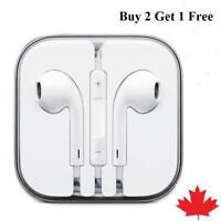 Earphones EarBuds for Apple iPhone 4 5 6 7 8 plus X XS Xr 11 Headphones mic Vol
