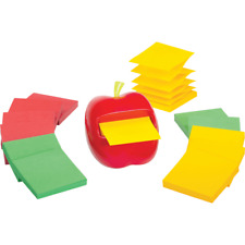 Post It Pop Up Note Apple Shaped Dispenser 4 716 X 5 516 X 4 34 Red