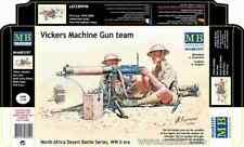 Equipe mitrailleuse Vickers 1/35 MasterBox