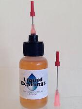 Liquid Bearings, BEST 100%-synthetic oil for FASTER Johnny Lightning cars !!!