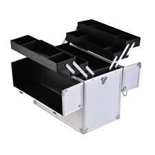 Kosmetikkoffer Beauty Case Schminkkoffer Schmuckkoffer Silber Aluminium Koffer