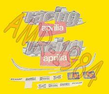 SERIE ADESIVI DECALCO CODONE APRILIA RS 50 1999 NERO-ROSSO  AP8257398