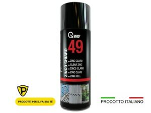 Zinco Chiaro Spray VMD49 400ml zincante a freddo ritocco protezione di fondo