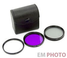 UV FLD CPL 55 mm Filtro Set Polarizzatore Circolare Polarizzatore fluorescenza con astuccio z-0596