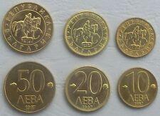 Bulgarien / Bulgaria 10,20,50 Leva 1997 unz.