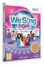Nintendo Karaoke Wii Spiel We Sing Pop  Neu