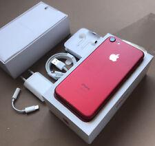 APPLE IPHONE 7 128GB ORIGINAL RED ROJO  GARANTÍA CAJA  TODOS LOS ACCESORIOS