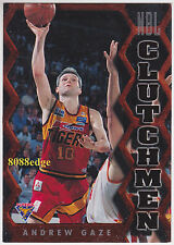 1995 FUTERA NBL CLUTCHMEN: ANDREW GAZE #CM8 TIGERS AUSTRALIA'S GREATEST PLAYER
