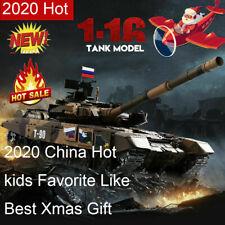 HengLong 3938 Russian T-90 1/16 2.4GHZ RC Tank w/Smoke Sound 360° Turret RTR Toy