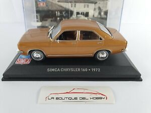 SIMCA CHRYSLER 160 1972 ALTAYA ESCALA 1:43
