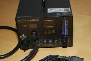 Aoyue 968A+ 4 in 1 Digital Soldering Iron & Hot Air Station