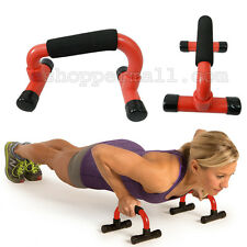Push Up Bars With Cushioned Foam Grip for Pushup and Strength Training B-34537