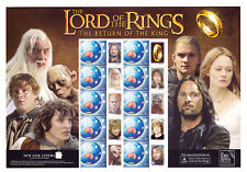 2003 - Lord Of The Rings - The Return Of The King - Australia Post Smilers Sheet