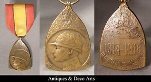 E.J. De Bremaecker Bronzen WO1 Herrineringsmedaille van de Veldtocht 1914-18