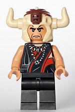 Lego NEW Indiana Jones Mola Ram Minifigure w/ Horned Helmet