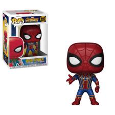 Funko Pop Iron Spider Man Avengers Infinity War #287 Marvel Comics Vinyl Figure