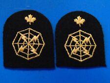 RCN Royal Canadian Navy Combat Information Radar Operations Plotter trade badges