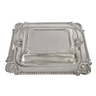 Tiffany & Co Sterling Silver 2 Compartment Covered Serving Dish #9136