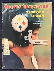 6.29.1974 TERRY BRADSHAW Sports Illustrated PITTSBURGH STEELERS Vintage Car Ads