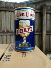 Golden Crown Draft By General Straight Steel Old Beer Can