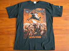 DOOMIRIDERS Haters Beware Band Black Metal T Shirt Deathwish Incorparted Mens M