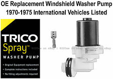 Wiper Washer Pump OE Replacement Select 1970-1975 International Vehicles - 11509