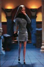 """ A Night Out "" - Fashion Collectible Photo Card Mattel - Barbie Doll Postcard"