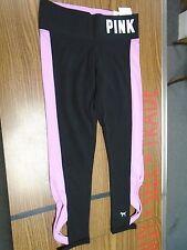 VICTORIA'S SECRET PINK Brand Ankle Legging Yoga Pants w/ Stirrups (XS) NWT!