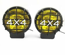 2pcs Yellow 4x4 Halogen Driving Work Light Fog Spot Lamp For Jeep Truck Off R ad