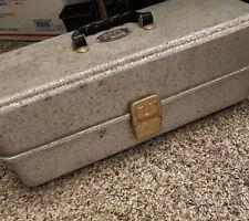 Vintage Umco Model # 173A Aluminum Tackle Box With Hi Take Goodies Inside!
