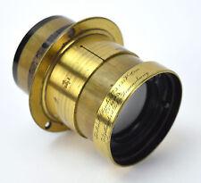 1901 Voigtlander Petzval Portrait Objectiv Ia Brass Lens f=10cm No. 69373