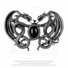 Gürtelschnalle Drachen Dragon Drache Fantasy Buckle LARP Mittelalter WGT B66