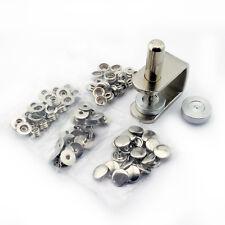 C.S. Osborne Snap Fastener Kit K230-24, Size 24 Snaps, 25 Sets Made In USA