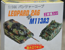 Unassembled Model DRAGON 1:144 N 2 Panzer Korps Tanks LEOPARD 2A6 & M113A3 WWII