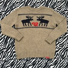 Abercrombie Kids Knit Sweater Size XL Deer's Winter Holiday 92