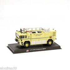 Voiture Pompier Moulé sous pression -2003 OSHKOSH ARFF - Echelle 1:72 - CBO046