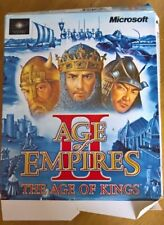 Age of Empires II -  1999 PC Game, BOXED, Retail. For Windows 95/98/NT4 SP5