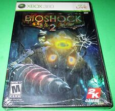 BioShock 2 Xbox 360 *Black Case! Compatible with Xbox One! *Factory Sealed!
