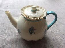 Antique W H Goss bagware teapot