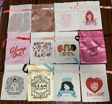 19 New Sephora Play Box Drawstring Canvas Bags Lot Sephora Collection Favorites