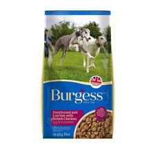 Burgess Dog Food Greyhound and Lurcher With British Chicken 25kg 2 X 12.5kg Bags
