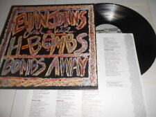 Evan Johns & His H - Bombs, Bombs Away Record Lp, Excellent