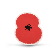 More details for poppies for kits - 15 pack | royal british legion | charity football sports