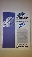Samsung ffh-272a service manual original repair stereo cd player radio tape deck