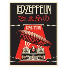Led Zeppelin Mothership Poster Shepard Fairey Obey Giant Screen Print Art Obey