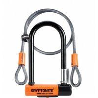 Kryptonite Evolution Mini 7 Dead Bolt Lock 4ft Kryptoflex Cable FlexFrame