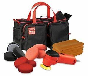 Griot's Garage 3 inch Complete Polishing Kit - Polisher,Pads,Towels,Trunk Bag