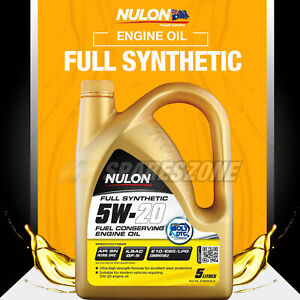Nulon Full SYN 5W-20 Engine Oil 5L for Hyundai i20 30 45 iLoad iMax Santa Fe