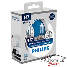 Philips WhiteVision H7 60% mehr Licht 2x W5W 12972WHVSM Xenon Effekt Abblendlich